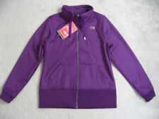 NWT THE NORTH FACE Women Jessie Windproof Soft-Shell Jacket Size L Urchin Purple