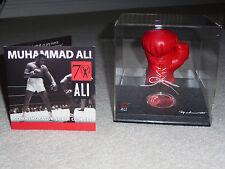Muhammad Ali Boxing glove SOLID SILVER MONETA Nuovo di zecca in Caso W/Coa LIMITED ED.