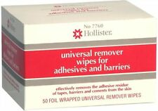 Hollister Universal Remover Wipes For Adhesives and Barriers No. 7760 50Each 5PK