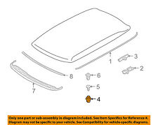 MINI OEM 02-14 Cooper-Roof Molding Clip 51137058122