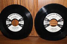 Lot of 8 Promo 45's 1954 - 1958 Harry James, Ralph Flanagan Jimmy Dean VG+