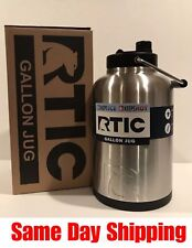 RTIC One Gallon Jug, Stainless, Holds the Ice For A Long Time Free Priority Ship