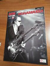 Joe Bonamassa Guitar Play-Along Book and Audio Very Good Hal Leonard Vol 152
