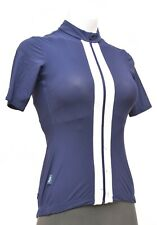 Rapha Souplesse Short Sleeve Cycling Jersey Women SMALL Blue Road Bike Race MTB