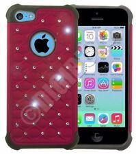 Fundas y carcasas brillantes de color principal rojo de silicona/goma para teléfonos móviles y PDAs