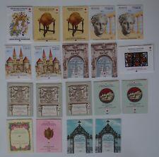 Lot 19 carnet timbres Croix-Rouge 1965 66 67 68 69 70 71 72 81 82 83 TTBE