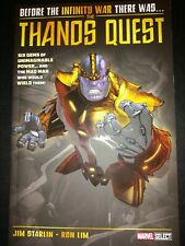 Marvel Thanos Quest graphic novel