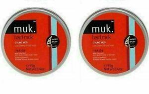 Muk Hard Muk 2 x 95g Full Size Red Hard Muk Duo FREE POST