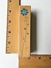 Hero Arts Rubber Stamp - Tall Daisy Flower - F4366 - NEW