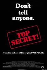 TOP SECRET Movie POSTER 27x40 B Val Kilmer Lucy Gutteridge Christopher Villiers