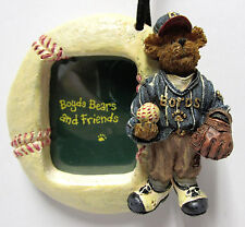 Boyds #25310 * Baseball Picture Frame Ornament * Brand New in Box