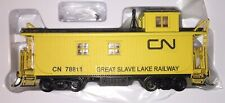 HO Scale Custom Painted True Line Trains CN Great Slave Lake Caboose 78811