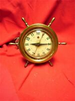TELECHRON ELECTRIC CLOCK  NAUTICAL DESIGN MODEL 3H85, 1930's