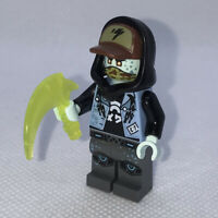 LEGO Scott minifigure Ninjago Gamer's Market njo558 71708 Genuine