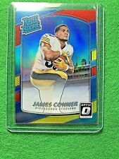 JAMES CONNER RC JERSEY #30 STEELERS RATED ROOKIE - 2017 DONRUSS OPTIC FOOTBALL