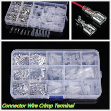 2.8/4.8/6.3mm Car Connector Wire Crimp Terminal Block With Insulating SleeveX270