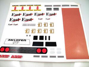 Dynamic Racing Mclaren GTR East Vintage Decal Modélisme
