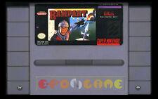 RAMPART Super Nintendo SNES Versione Americana NTSC ○○○○○ SOLO CARTUCCIA