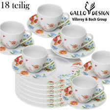 BRANDNEU! VILLEROY & BOCH GESCHIRR KAFFEE SERVICE 18 TEILE GALLO DESIGN TOP