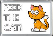 Nutrire il gatto-Divertente Carino Kitty promemoria Congelatore CALAMITA