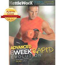 KettleWorX Advanced 8 Week Rapid Evolution - KettleBell Training - 3 DVDs - New