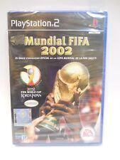 Mundial FIFA 2002 juego para play 2 nuevo y precintado
