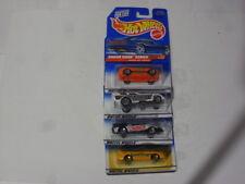 1997 Mattel Hot Wheels Sugar Rush Series Cars 4-Cars to the Set New On Card .