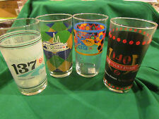 KENTUCKY DERBY SPECIAL SALE-SET OF 2011 2012 2013 AND 2014 DERBY GLASS