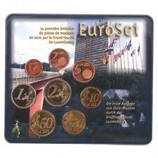 LUXEMBOURG Coffret 8 Pièces d'Euro en coffret BU 2002 - Or Nordique