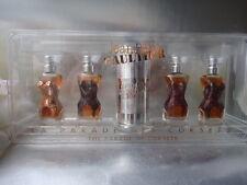 JEAN PAUL GAULTIER 4x3.5ml Parfum Vintage 1990s La Parade de Corsets New Giftset