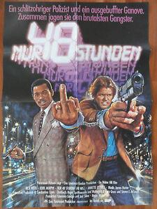 Walter Hill NUR 48 STUNDEN Nick Nolte Eddie Murphy Plakat Kinoplakat