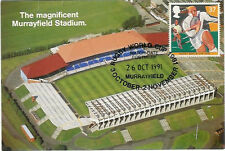 SET OF 5 SCOTTISH RUGBY WORLD CUP 1991 MAXI CARDS