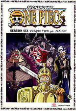 One Piece: Season 6: Voyage Two DVD EP 349 - 360 NEW Factory Sealed