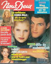 ▬►NOUS DEUX 2468 (1994) DONNA MILLS_VANESSA PARADIS_JODIE FOSTER_SOPHIE MARCEAU