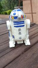 """VINTAGE R2D2 4 1/2"""" HARD PLASTIC FIGURE JOINTED LEGS BOOTLEG MADE AT MEXICO"""