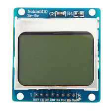 3.3V~5V LCD Display Screen White Backlight adapter PCB For Nokia 5110 Module