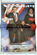 FREE NEWSDAY Nov. 5 2008 President Obama Collector's Sold Out  Issue HISTORY