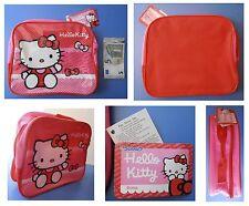 Hello Kitty, borsa borsetta borsello astuccio rosa cm 25x20
