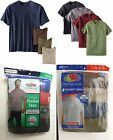 Fruit of the Loom Men's 4 or 5-pack Pocket T-shirts Assorted. Sizes- M-3X NEW