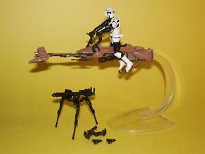 Star Wars Movie Heroes TRU Speeder Bike with Scout Trooper Loose