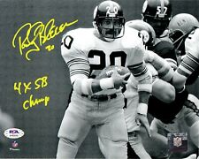 Rocky Bleier autographed signed inscribed 8x10 photo Pittsburgh Steelers PSA COA