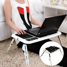 Portable Folding Laptop Desks Adjustable Computer Table Stand Tray For Bed Sofa
