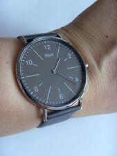 M&m Germany reloj m11870-546 jumbo Big Time pulido acero inoxidable BEST BASIC chocolate