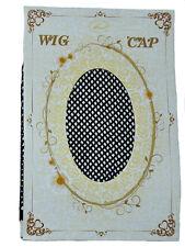 Haarnetz in schwarz Perückennetz Perückenkappe Unterziehhaube wig cap Perücke
