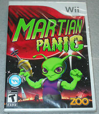 Martian Panic  (Wii, 2010) NEW SEALED