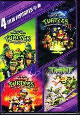 TEENAGE MUTANT NINJA TURTLES 4 FILM COLLECTION DVD REGION 1