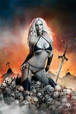 LADY DEATH, POSTER PRINT ITEM #6901