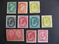 CANADA early issues MNG, MH, MNH, some faults, still a very presentable group!