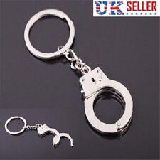 Handcuff Key Ring, Keyring, Keychain, Police, Handbag, Charm, Pendant - UK