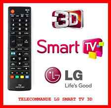 TELECOMMANDE OFFICIELLE TELEVISION UNIVERSELLE COMPATIBLE LG SMART TV 3D GRATUIT